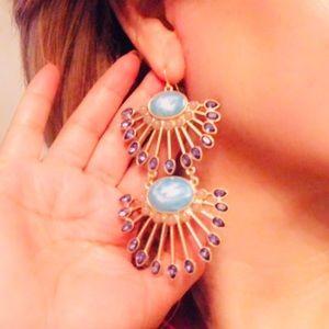 "3.5"" Massive earrings"